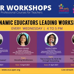 Delhi APER workshops - E. C. A