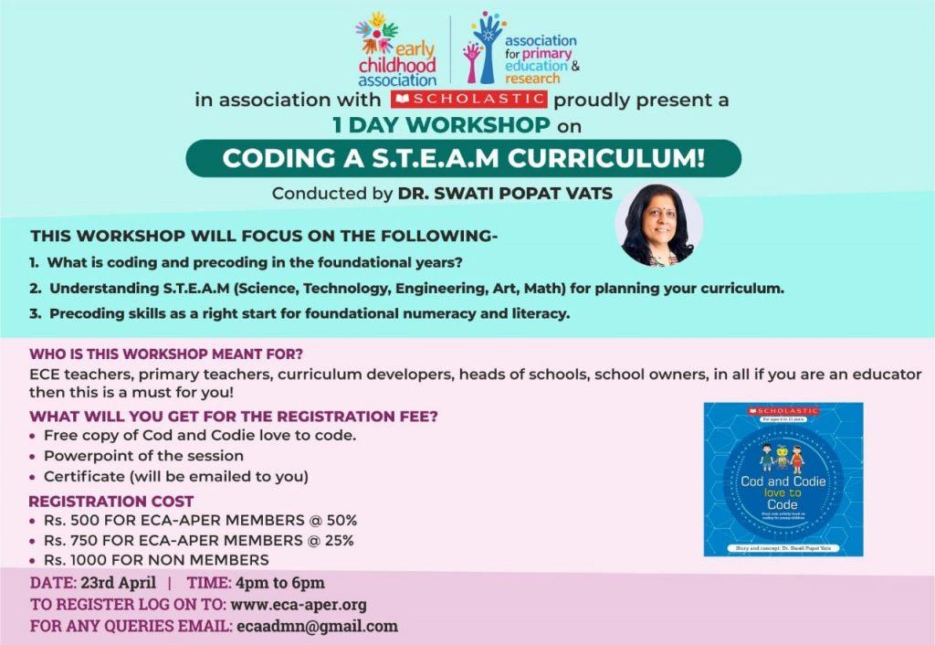 Coding a S.T.E.A.M. Curriculum